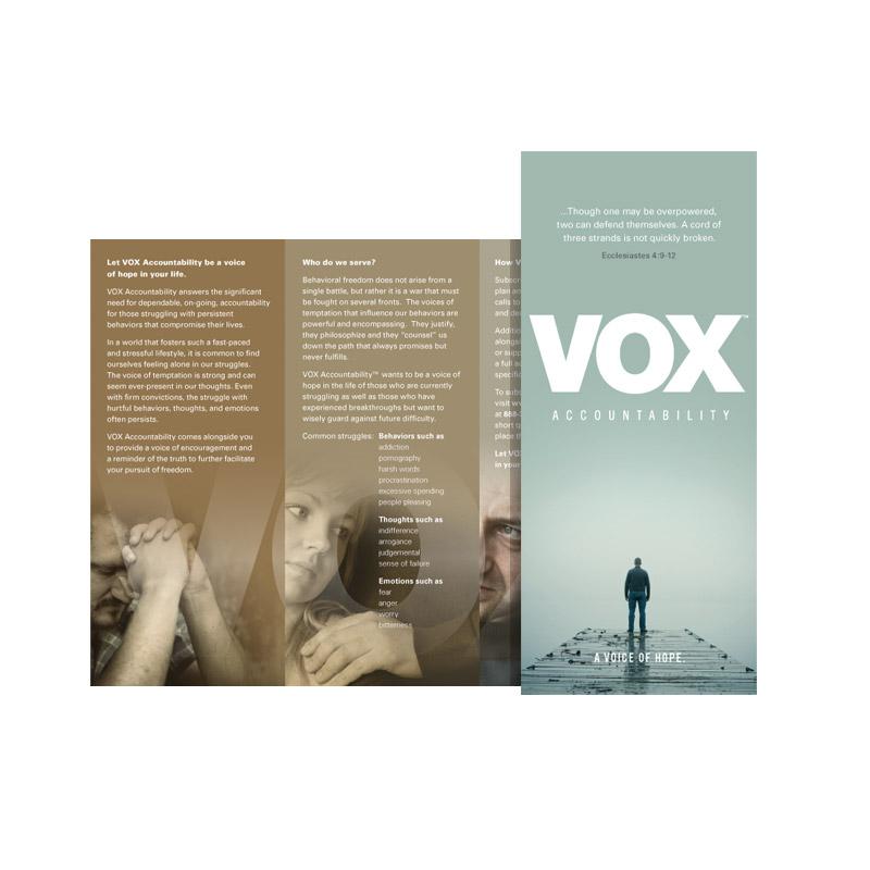 VOX Accountability brochure