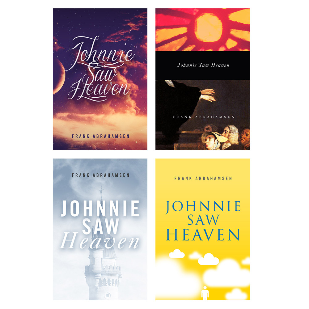 Johnnie Saw Heaven Book Cover Designs