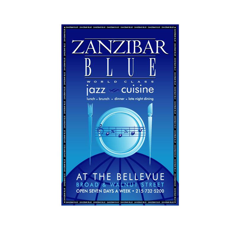 Zanzibar Blue poster