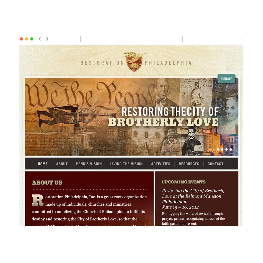 Restoration Philadelphia web